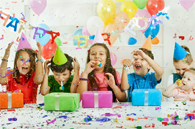image of a children's birthday party